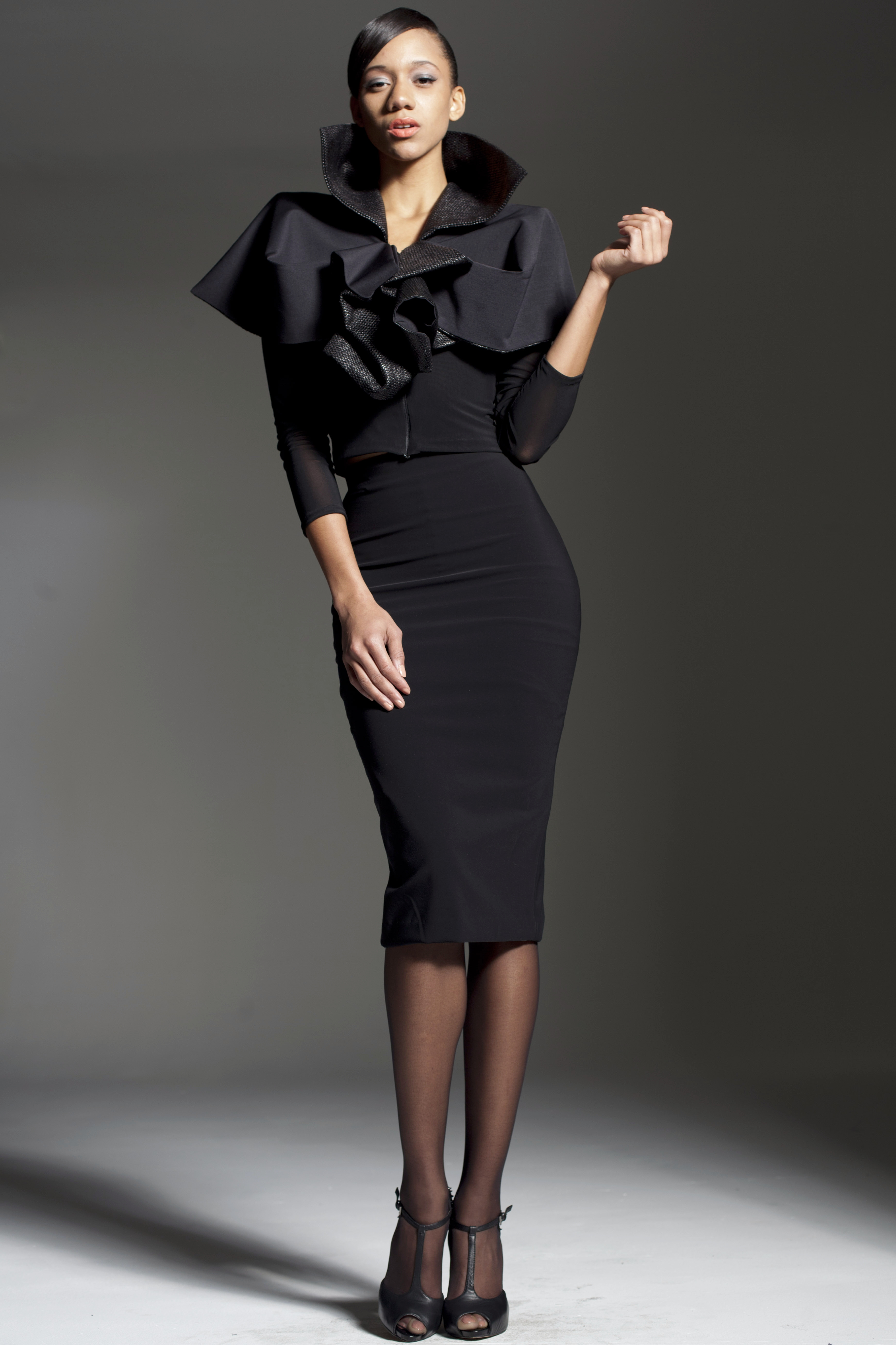 Black pencil skirt suit – Modern skirts blog for you